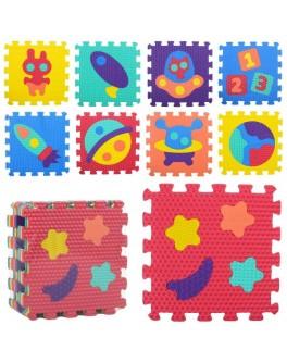 Детский коврик мозаика Космос (M 2632) - mpl M 2632