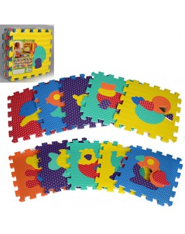 Детский коврик мозаика Животные (M 2619) - mpl M 2619