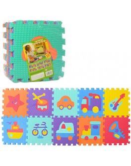 Детский коврик пазл Коллаж (M 3520) - mpl M 3520