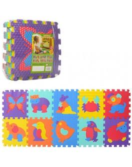 Детский коврик пазл Животные (M 3517) - mpl M 3517