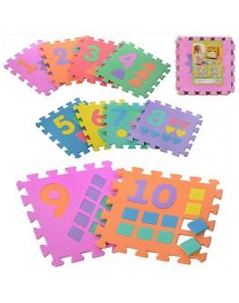 Игровой коврик мозаика Цифры (M 0375) - mpl M 0375
