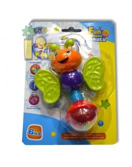 Погремушка прорезыватель Стрекоза, Limo Toy - mpl 7468