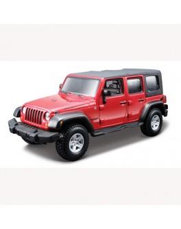 Конструктор модели автомобиля JEEP WRANGLER UNLIMITED RUBICON  (масштаб 1:32)