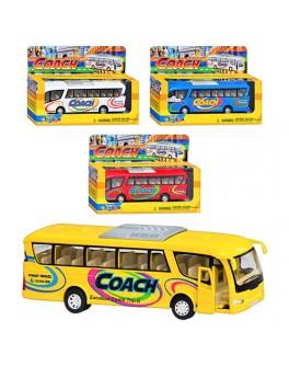 Машинка коллекционная Kinsmart Автобус Coach