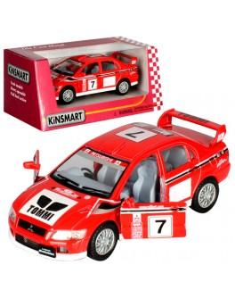 Машинка коллекционная Kinsmart Mitsubishi Lancer Evolution (KT 5048 W) - mpl KT 5048 W