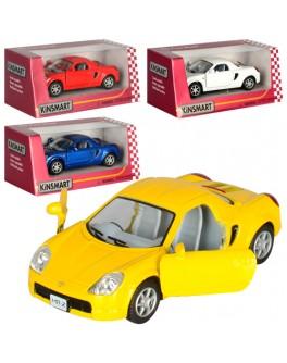 Машинка коллекционная Kinsmart Toyota MR2, 4 цвета (KT 5026 W) - mpl KT 5026 W