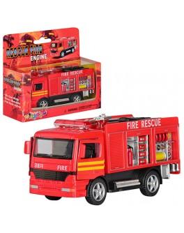 Машинка металлическая инерционная Kinsmart Пожарная машина (KS 5110 W)