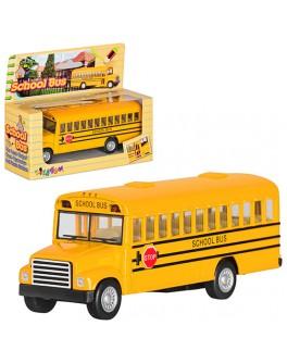 Машинка металлическая инерционная Kinsmart Школьный Автобус (KS 5107 W) - mpl KS 5107 W