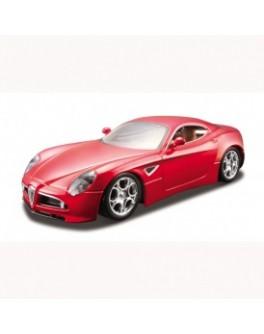 Автомодель - ALFA 8C COMPETIZIONE (2007) (ассорти черный металлик, красный металлик, 1:32) - KDS 18-43004