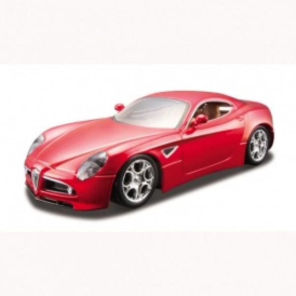 Автомодель - ALFA 8C COMPETIZIONE (2007) (ассорти черный металлик, красный металлик, 1:32)
