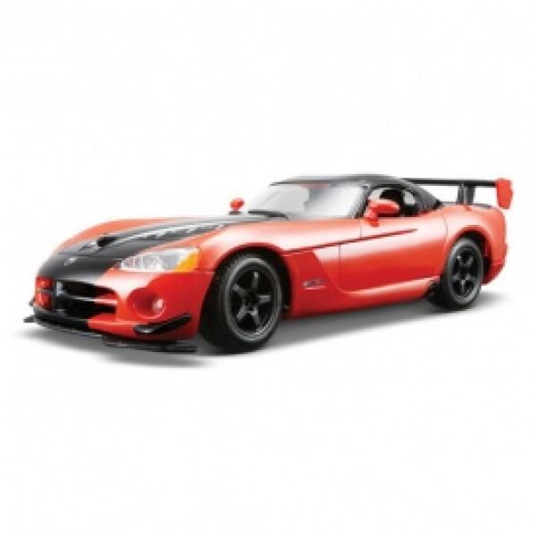 фото Автомодель - DODGE VIPER SRT10 ACR (ассорти оранж-черн металлик, красн-черн металлик, 1:24) - KDS 18-22114