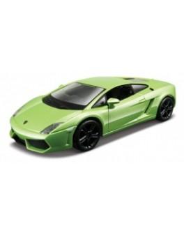 Автомодель - LAMBORGHINI GALLARDO LP560-4 (2008), (ассорти белый, светло-зеленый металлик, 1:32) - KDS 18-43020