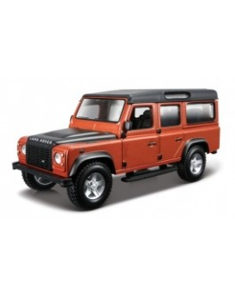 Автомодель - LAND ROVER DEFENDER 110 (ассорти белый, оранжевый металлик 1:32) - KDS 18-43029