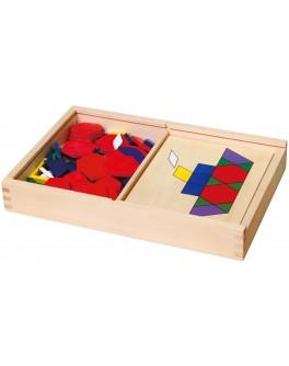 Деревянная мозаика Viga Toys (50029)