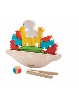 Деревянная игрушка Балансирующая лодка Plan Toys (5136)
