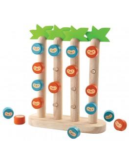 Деревянная игрушка Обезьянки в ряд Plan Toys (4612) - plant 4612