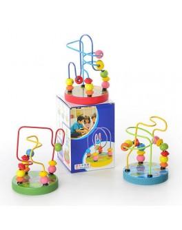 Дерев'яна іграшка Пальчиковий лабіринт MD 0060 Woody - MD 0060