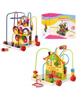 Деревянная игрушка Лабиринт, 2 вида (MD 0016) - mpl MD 0016