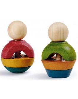 Деревянная игрушка Гайки и болты Plan Toys (5644) - plant 5644