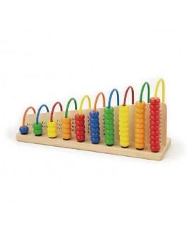 Деревянная игрушка Viga Toys Учимся считать (50022) - afk 50022