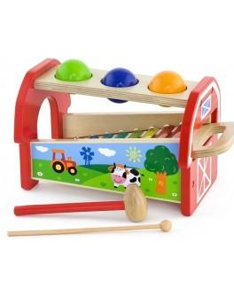 Деревянная игрушка Viga Toys Ксилофон 2 в 1 (50348) - afk 50348