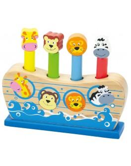 Деревянная игрушка Viga Toys Веселый ковчег (50041) - afk 50041