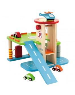Деревянная игрушка Viga Toys Гараж (59963VG) - afk 59963