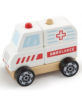 Дерев'яна іграшка Viga Toys Швидка допомога (50204) - afk 50204