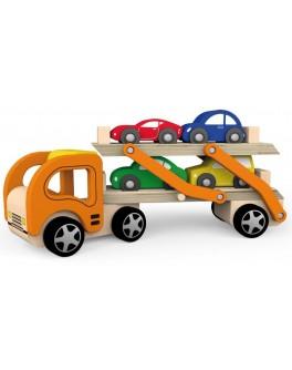 Деревянная игрушка Viga Toys Автотрейлер (50825)
