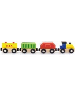 Деревянная игрушка доп. набор к ж/д Viga Toys Поезд грузовой (50820) - afk 50820