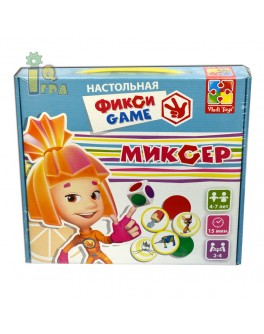 Настольная игра ходилка Фиксики Миксер  Vladi Toys VT2108-01 - VT2108-01