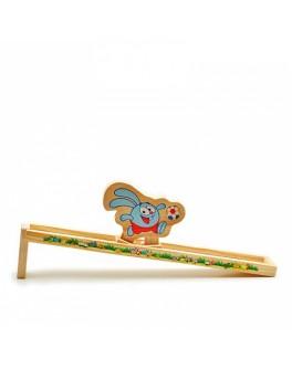 Самодвижущаяся игрушка из дерева Крош - Смешарики, Мди - Der 327