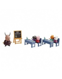 Игровой набор Peppa - ИДЕМ В ШКОЛУ (класс, 5 фигурок) - KDS 20827