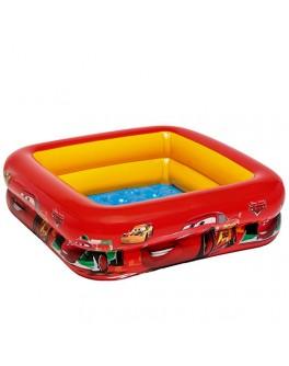 Надувной детский бассейн Intex Тачки 85х85х23 см (57101) - mpl 57101