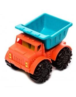 Игрушка для игры с песком Battat мини-самосвал, морской-папайя