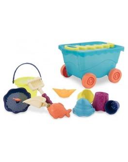 Тележка Море Набор для игры с песком и водой Battat (BX1596Z) - KDS BX1596Z