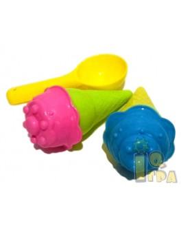 Набір для пісочниці морозиво (1052)