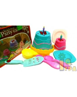 Набор для песка торты и пирожные в сумочке - mpl 740