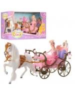 Коні, Карети, Машини для ляльок гарантовано порадують Вашу дитину