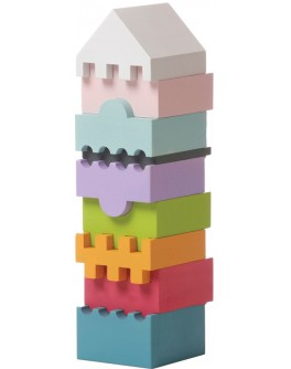 Деревянная пирамидка воздушная башня Cubika