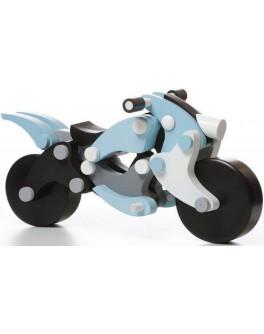 Деревянный конструктор Мотоцикл чоппер для мальчиков Cubika