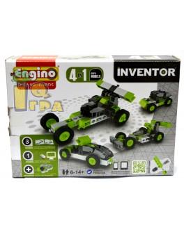 Конструктор Engino Inventor 4 в 1 Автомобили, 50 эл. - kds 0431
