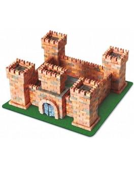 Конструктор Замок дракона из керамических кирпичиков 1080 деталей - esk 70385