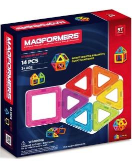 Магнитный конструктор Magformers Базовый набор, 14 элементов