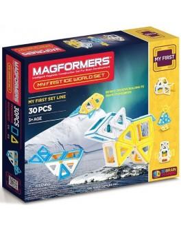 Магнитный конструктор Magformers Мое первое путешествие в снежные края, 30 элементов