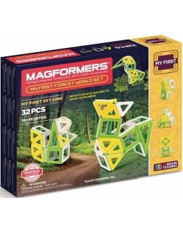 Магнитный конструктор Magformers Мое первое путешествие в лесные края, 32 элемента