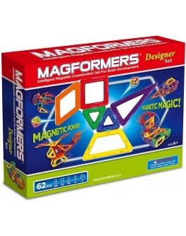 Магнитный конструктор Magformers Дизайнер, 62 элемента