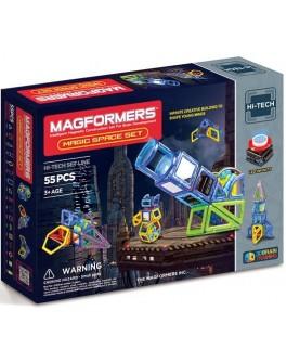 Магнитный конструктор Magformers Магия космоса, 55 элементов