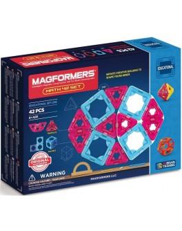 Магнитный конструктор Magformers Математический набор, 42 элемента