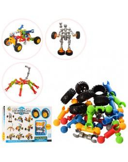 Конструктор Stick building block Транспорт 27 деталей с колесами (SY9906-08-09)